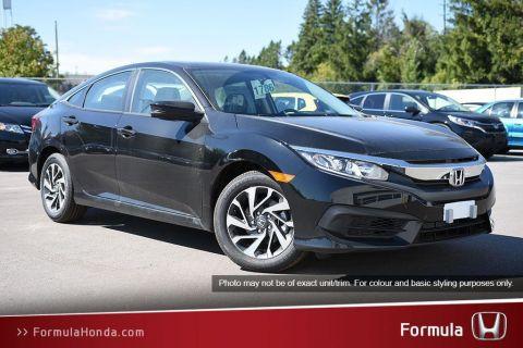 New 2018 Honda Civic Sedan LX CVT Front Wheel Drive 4-Door Sedan