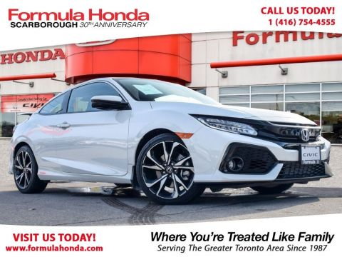 Pre-Owned 2017 Honda Civic Coupe SI 6MT Front Wheel Drive 2-Door Coupe