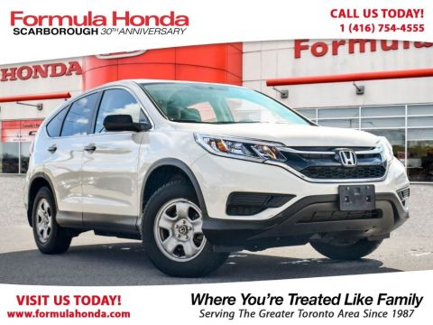 Certified Pre-Owned 2015 Honda CR-V LX AWD All Wheel Drive Crossover