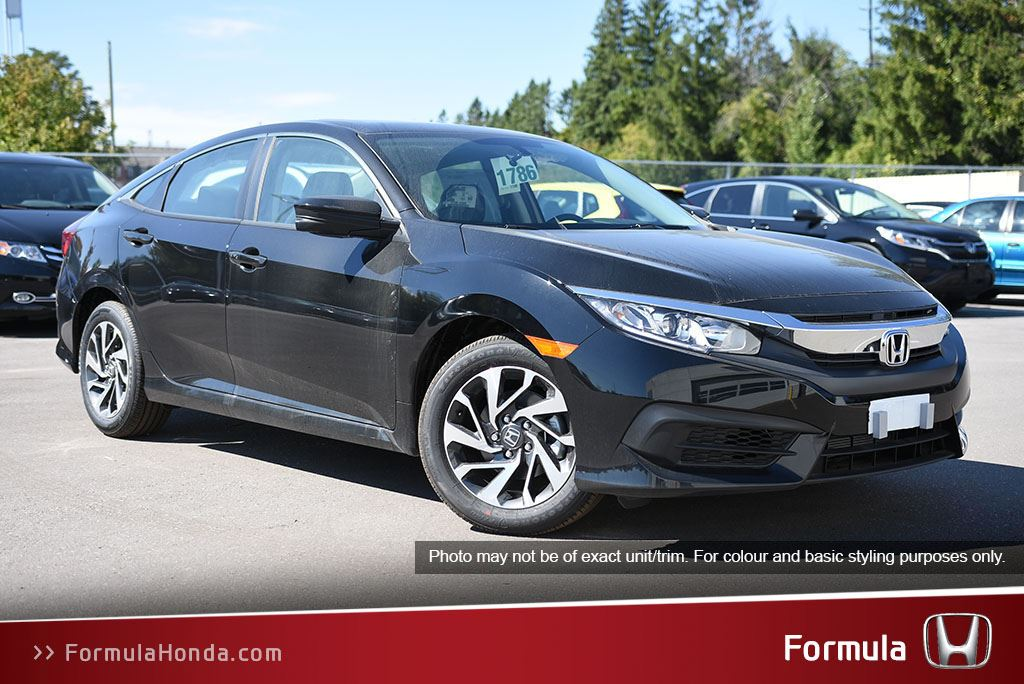 New 2018 Honda Civic Sedan LX CVT